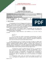 Parecer CNE-CES 116-2007 - Consulta Referente à Aplicação Do Art 47, Parágrafo 2 Lei 9.394-96
