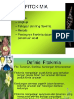 Pengantar Fitokimia