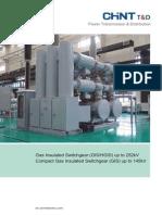 Gas Insulated Switchgear Upto 252kV
