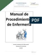 Manual procedimientos de enfermería