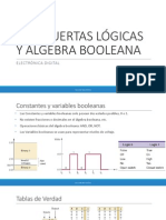1. Compuertas Lógicas y Algebra Booleana