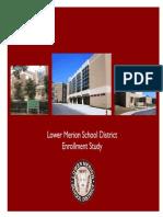 4-27-15 LMSD Enrollment Study - MCPC