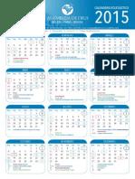 Calendário AD 2015- IGREJA