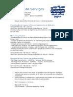 Modelo Proposta de Serviços de Site