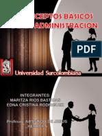 Exposicion 1 Funciones Basicas Admon