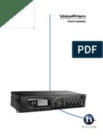 TC Helicon VOICE Prism Manual