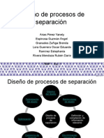 Conceptos Diseño de procesos de separación