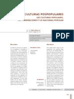 Alabarces - Transculturas Populares - Hibridacion