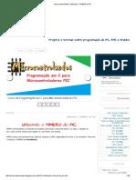 Microcontrolandos_ Utilizando o TIMER0 Do PIC