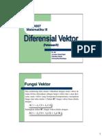 4 Diferensiasi Vektor