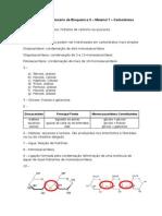 Gabarito - Questionário 1 - Carboidratos
