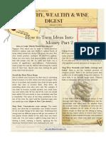 Turn Your Ideas Into Money Pt 2 (PDF)
