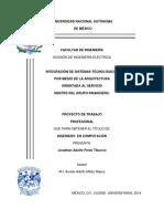 Informe INTEGRACIÓN DE SISTEMAS