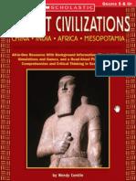 Ancient Civilizations China, India, Africa, Mesopotamia