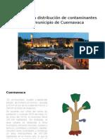 Análisis de La Distribución de Contaminantes-cuernavaca