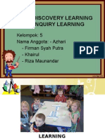 Model Discoverylearning Dan Inquiry Learning