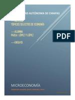 Microeconomía. Análisis de mercados, precio, demanda y oferta