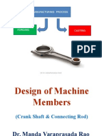 Crank Shaft & Connecting Rod Design