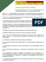 Reglamento UNAM