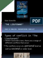 the lieutenant powerpoint pptx