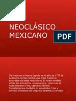 Neoclásico Mexicano
