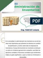 Administración de Inventarios- Clase N°033