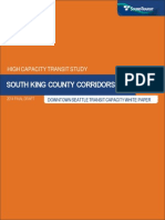 Downtown Seattle Transit Capacity White Paper Final Draft