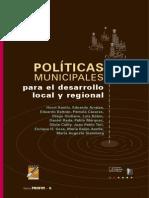 Politicas Municipales. (Graglia)