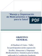 Curso Taller Dispensacion
