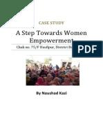 A Step Towards Women Empowerment