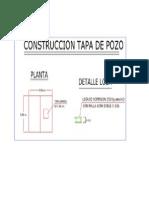Detalle Tapa Pozo