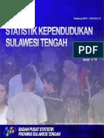 Statistik Kependudukan Sulawesi Tengah 2014
