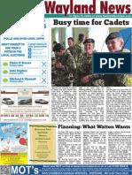 The Wayland News May 2015