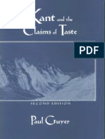 2Paul Guyer Kant and the Claims of Taste 2nd Ed. 1997