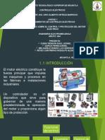 Generalidades Sobre El Control y Protección Del Motor Eléctrico.