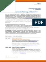 LALF8 Agenda (Spanish Version)