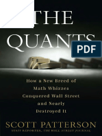 The Quants by Scott Patterson - Excerpt
