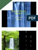waterfall project