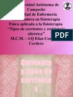 4.1 y 4.2 -Tipos de Corrientes y Resistencia Eléctrica - BIBLIOGRAFÍAS