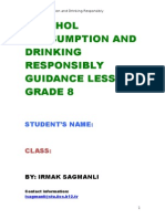 drinking consumption and drinking responsibly guidance class booklet