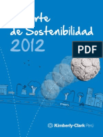 Kimberly-clark Peru Reporte de Sostenibilidad 2012
