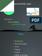 Mysql Sp Presentation