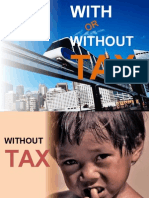 With or Without Tax