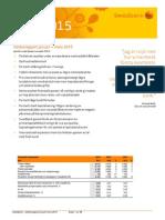 Swedbank Delår Kv 1, 2015