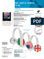 Catalogo 2014 Audiola Lettori Mp3-Mp4 e Cuffie