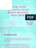 large scale synthetic social mobile networks with SWIM.pptx