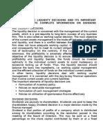Sikkim Manipal University - MBA II Sem Assignment - Financial Management