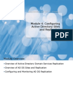 04 Configuring Active Directory Sites and Replication