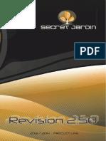 Secret Jardin - Catalogue 2.50