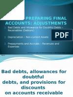Bad Debts Etc.